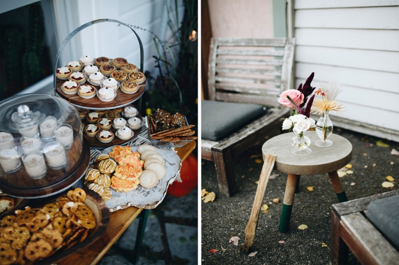 devasco daughters, outdoor rustic food styling, studio fleurette