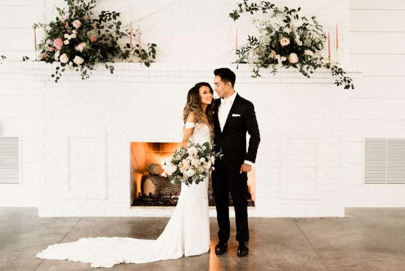 hutton house fireplace wedding, studio fleurette,