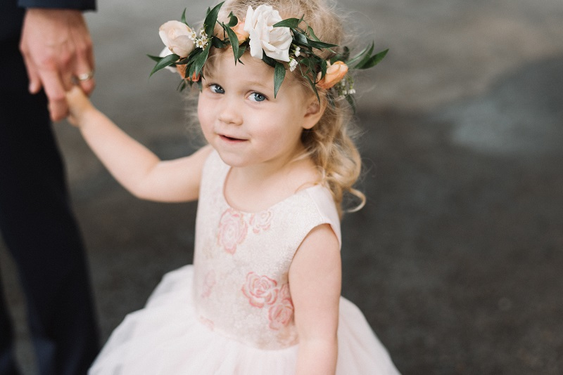 flower girl floral crown, flower crown, studio fleurette, minneapolis mn wedding florist.jpg