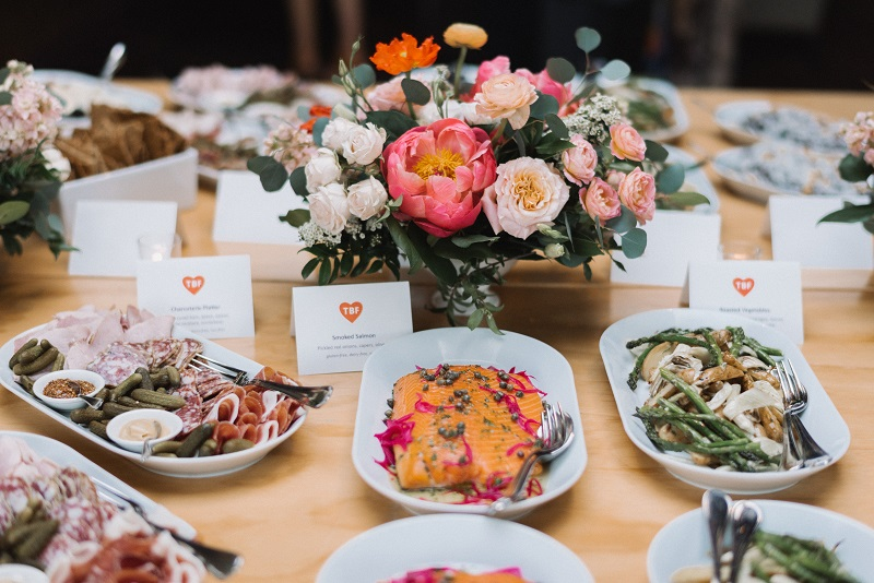 food and floral styling, the bachelor farmer food, weddings at the bachelor farmer, studio fleurette.jpg