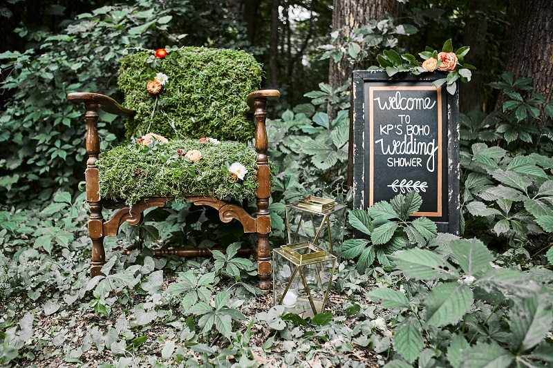 bohemian wedding shower ideas, studio fleurette, moss flower chair, minneapolis mn florist.jpg