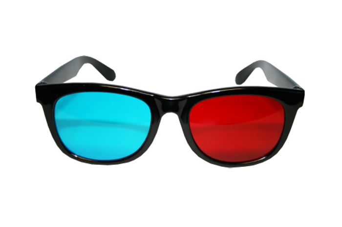 Red/Cyan 3D Glasses — G-Labs