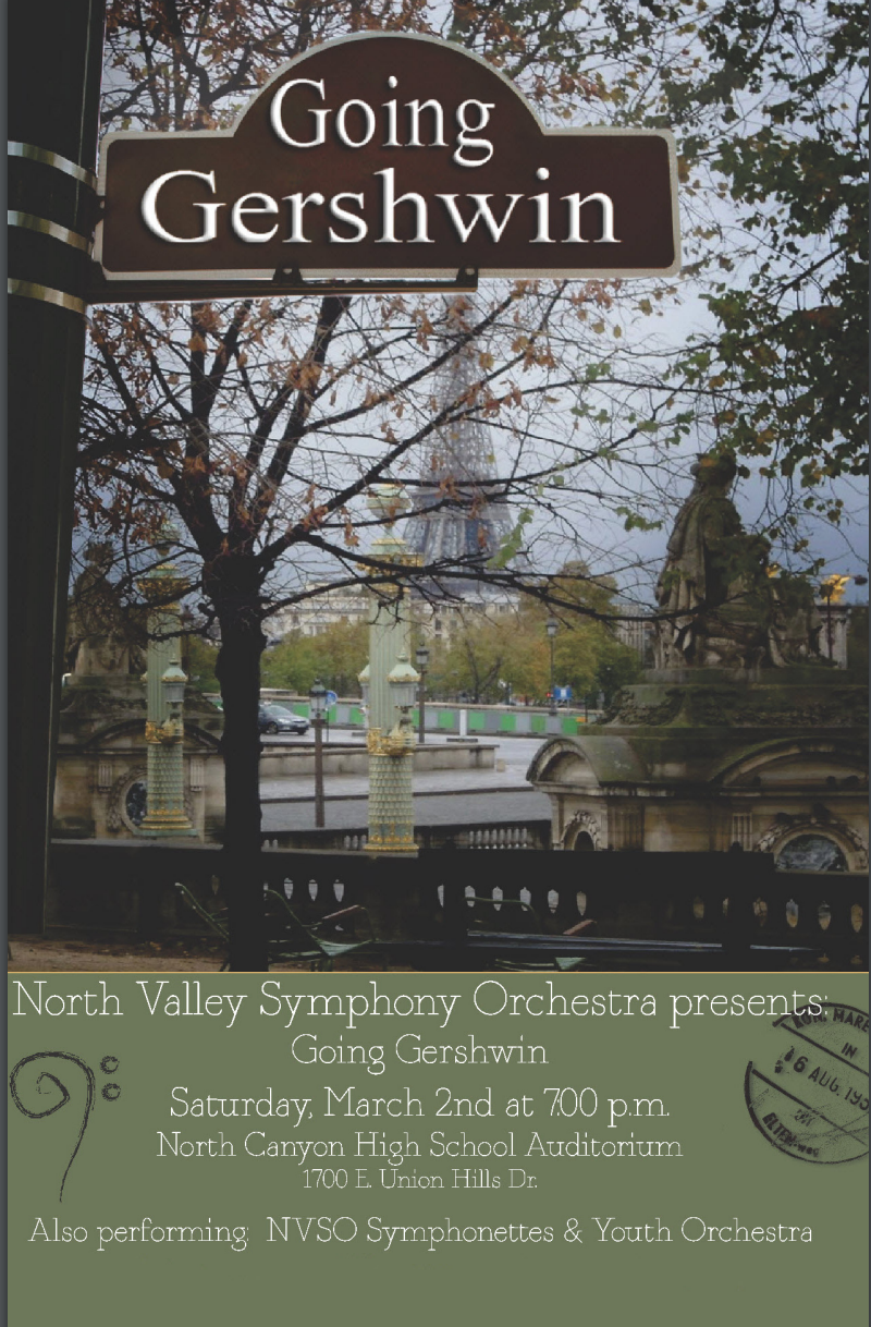 Going Gershwin - March 2, 2013