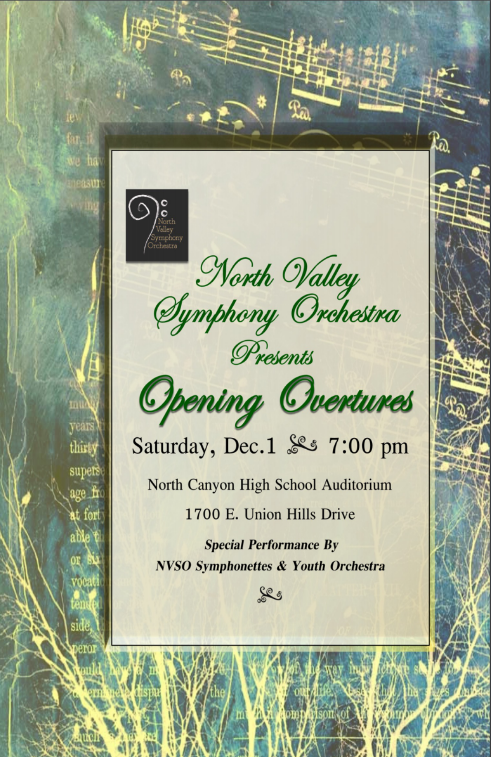 Opening Overtures - December 1, 2012