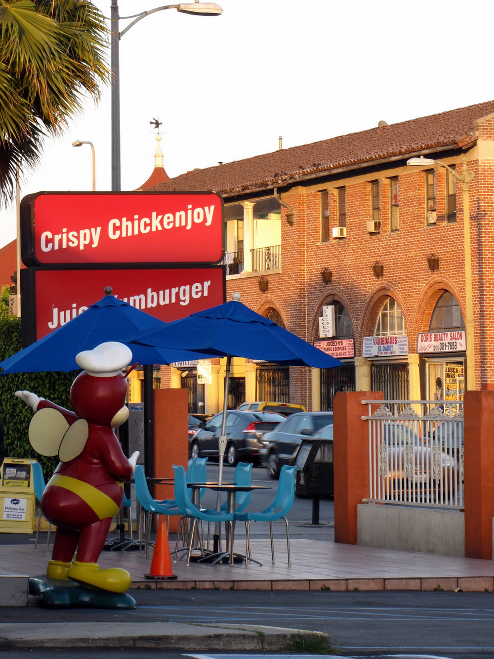 Jollibee on Beverly in Los Angeles's Koreatown Neighborhood