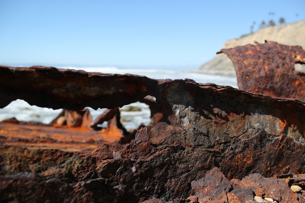 Rusted SS Melville Jacoby Wreckage.JPG
