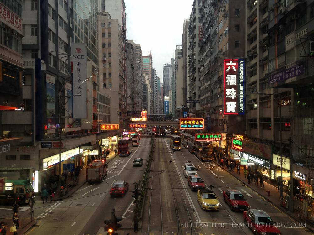 Hong Kong Streetscape