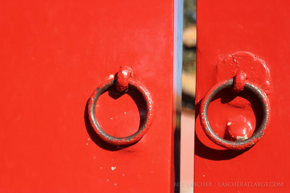 Peek Through the Gate