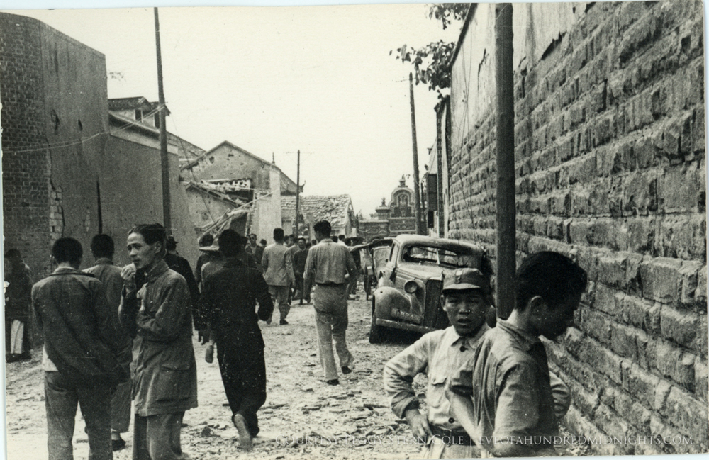 Damaged Back Street After Bombing.jpg