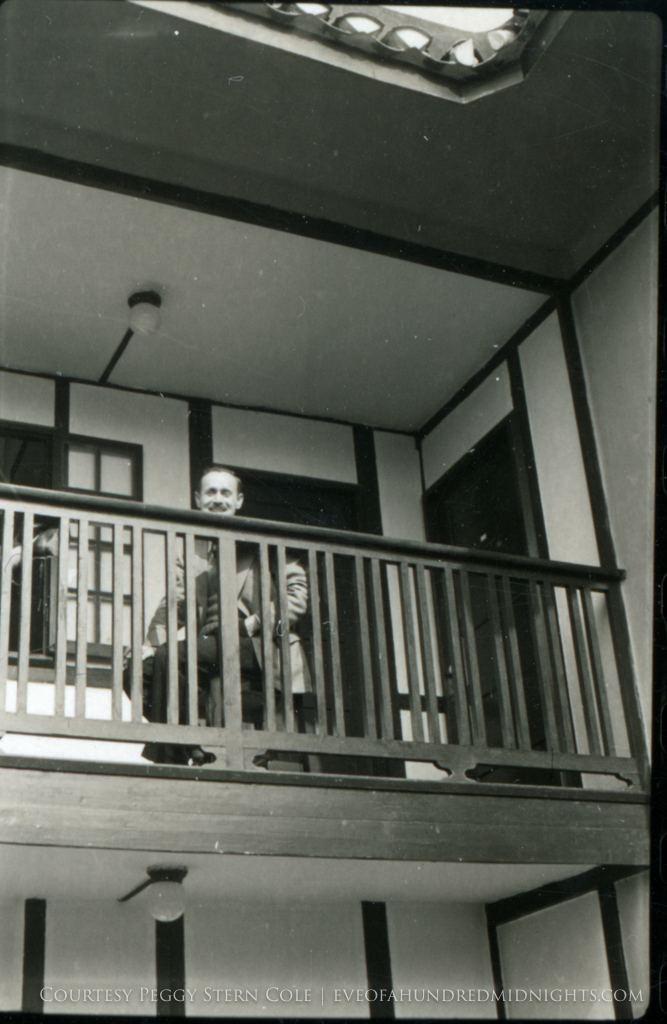 Mo Votaw smiling from Press Hostel Balcony.jpg