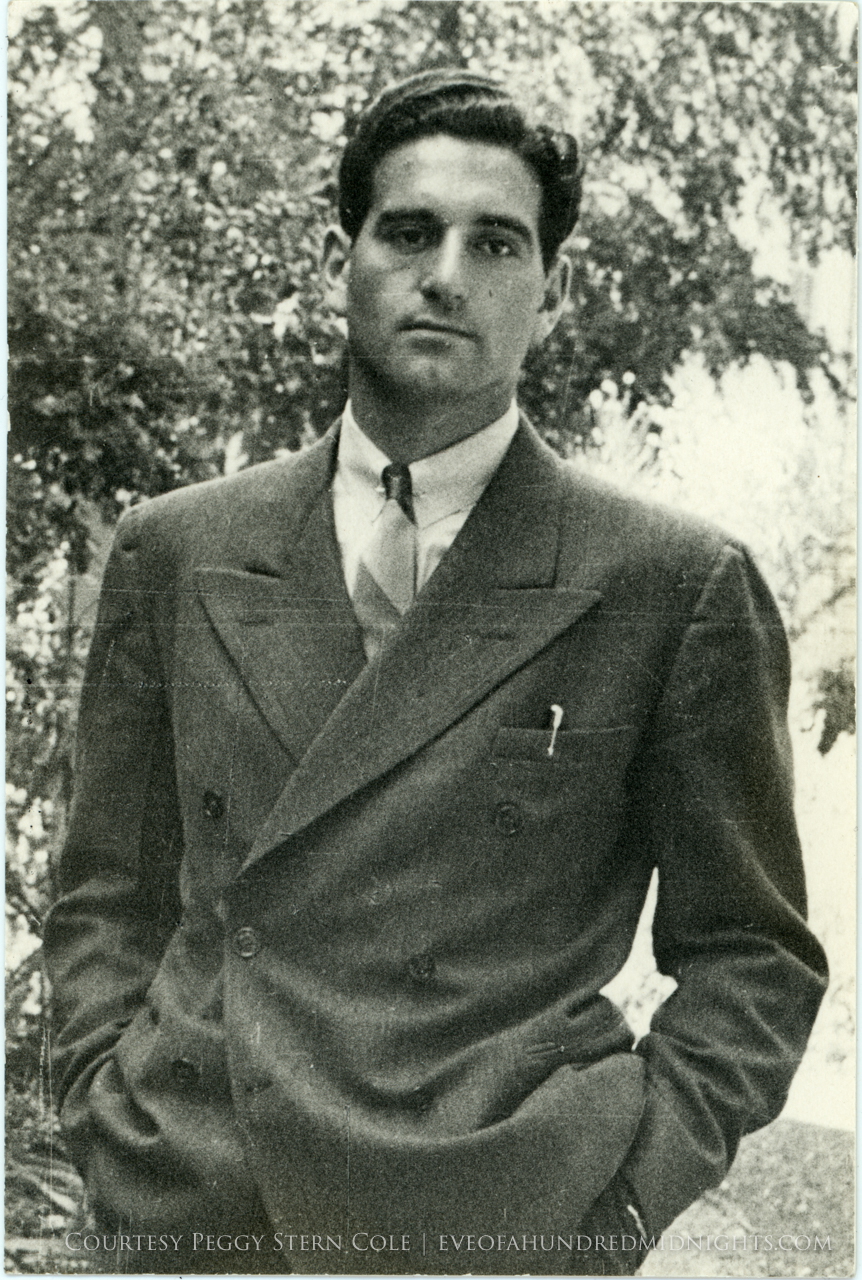 Mel in a suit