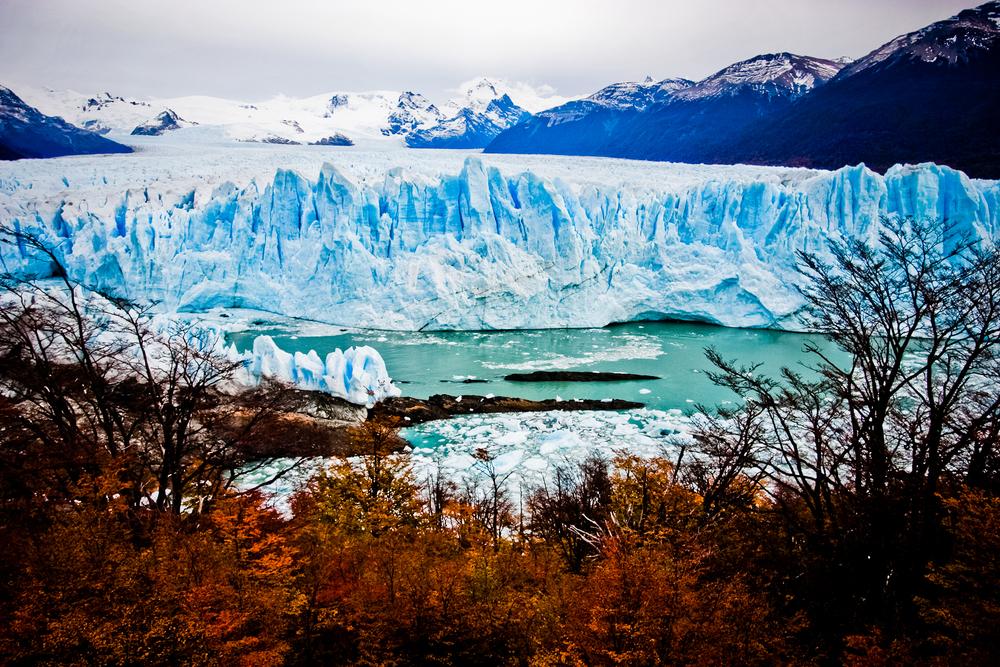 The Perrito Moreno Glacier, El Calafate, Argentina 2009.