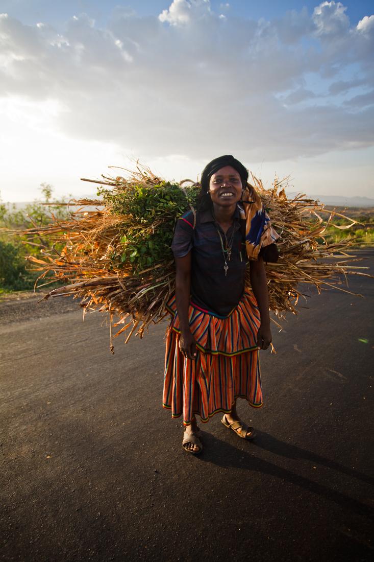 Konso woman, Ethiopia 2012.