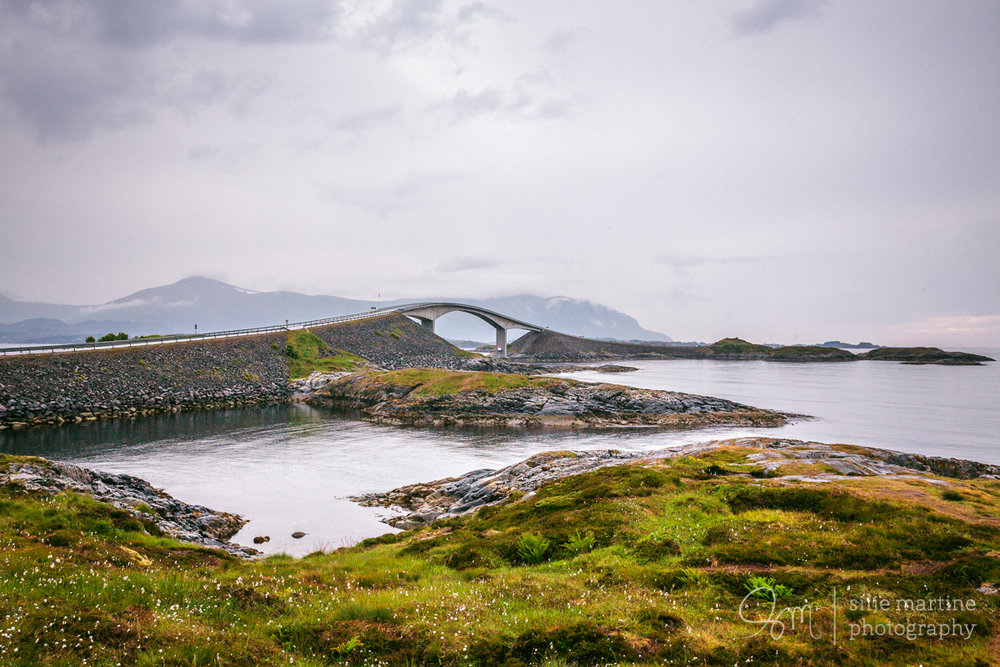 The Atlantic road.