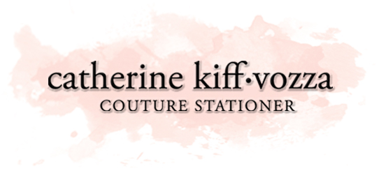 Catherine Kiff-Vozza, Couture Stationer