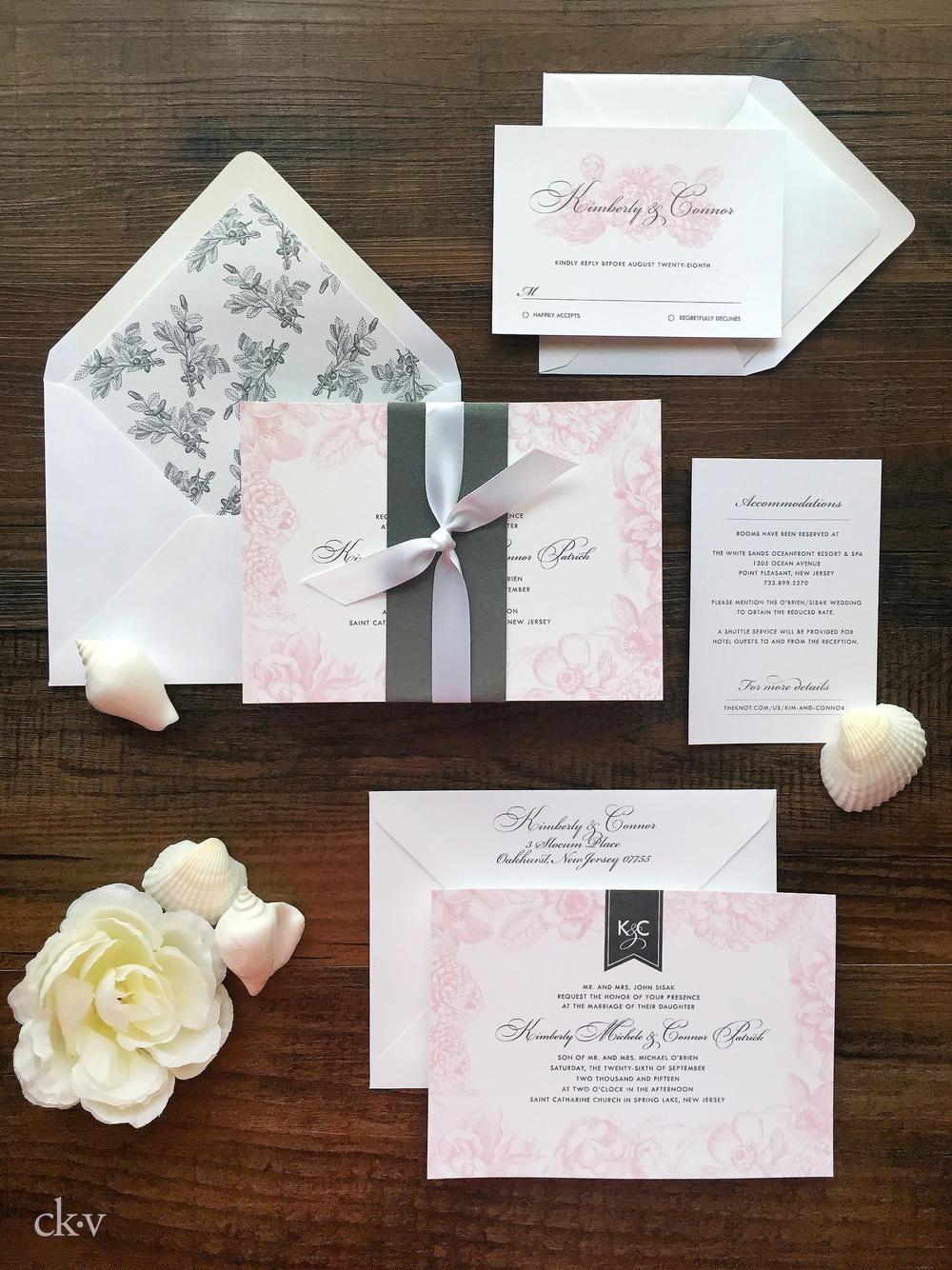 WEDDING PORTFOLIO — Catherine Kiff-Vozza, Couture Stationer