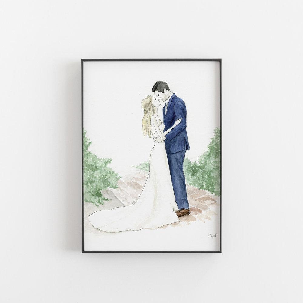 CUSTOM ILLUSTRATIONS - WEDDING . FAMILY . PET