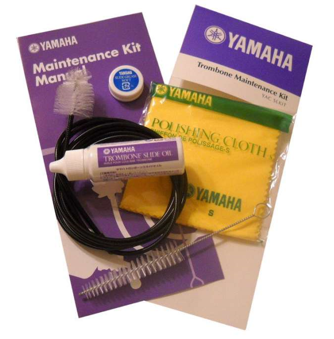 Yamaha Maintenance Kit For All Instruments /// Under $30 This is a great tool for all players. The high quality supplies are among the best to clean with. The kits are complete with your instrument's care instructions.