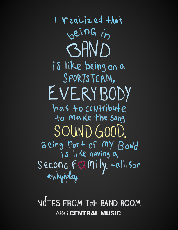 Being in Band Quote