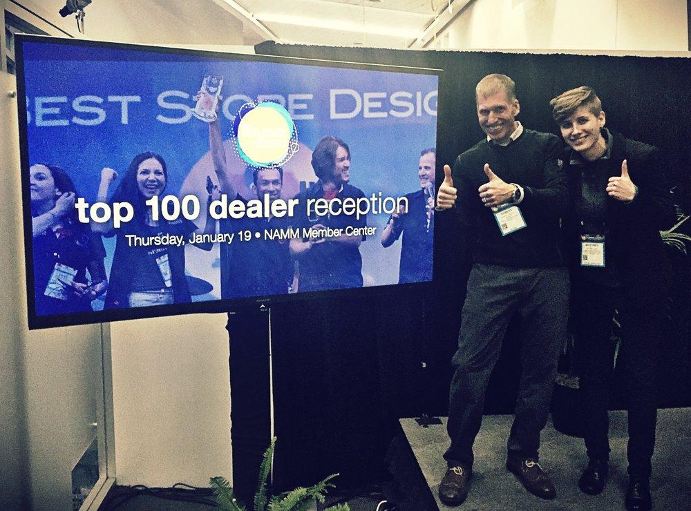 Topp 100 Dealer Namm