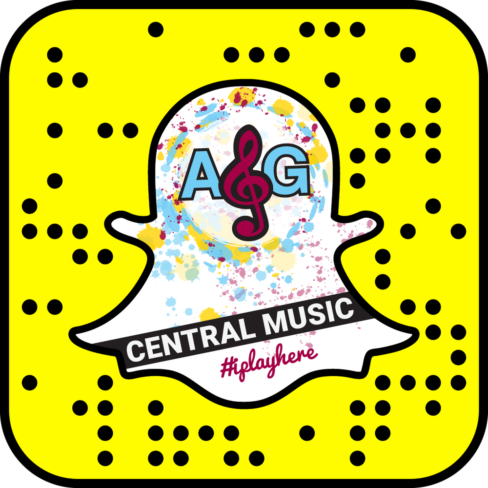 Follow us on Snapchat! ag.centralmusic