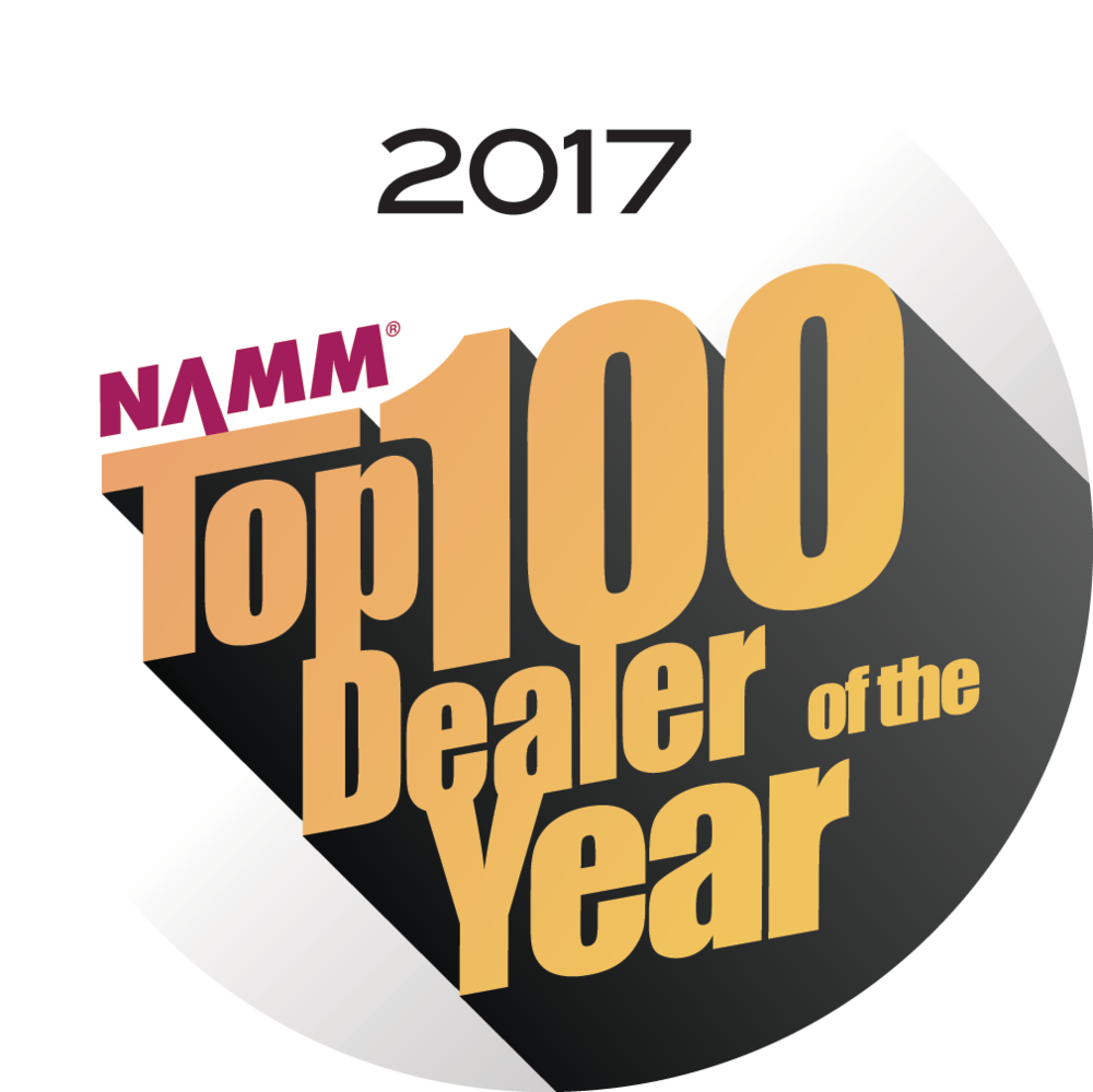 NAMM Dealer of the Year 2017