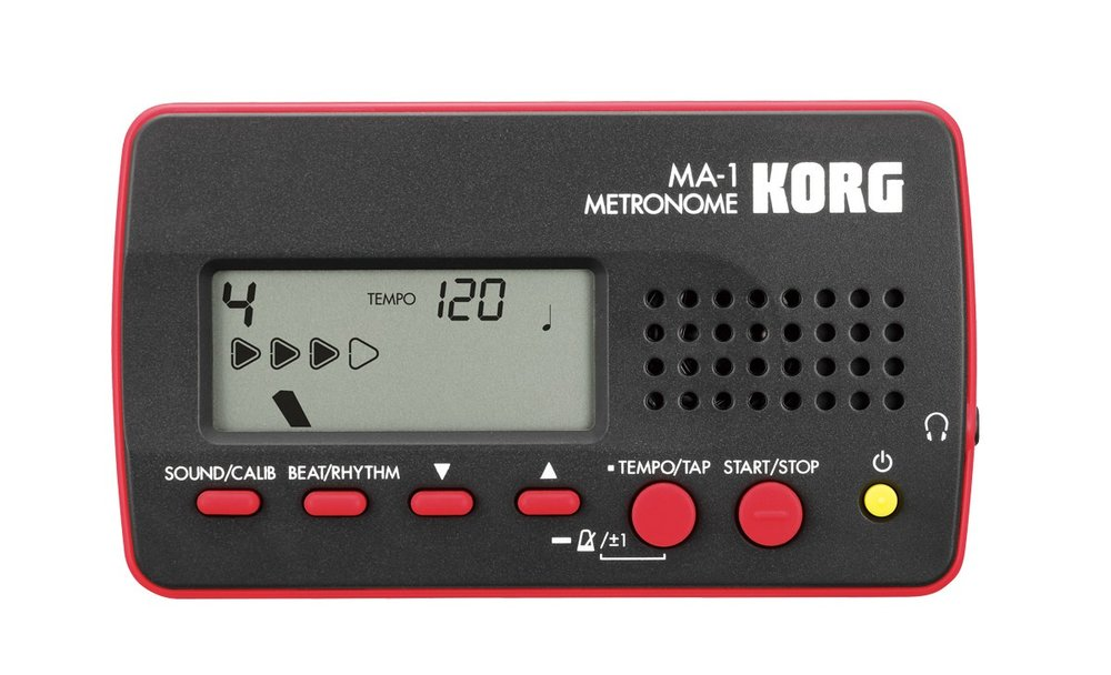 Korg makes tuners, metronomes, and a tuner/metronome combo! A must have!