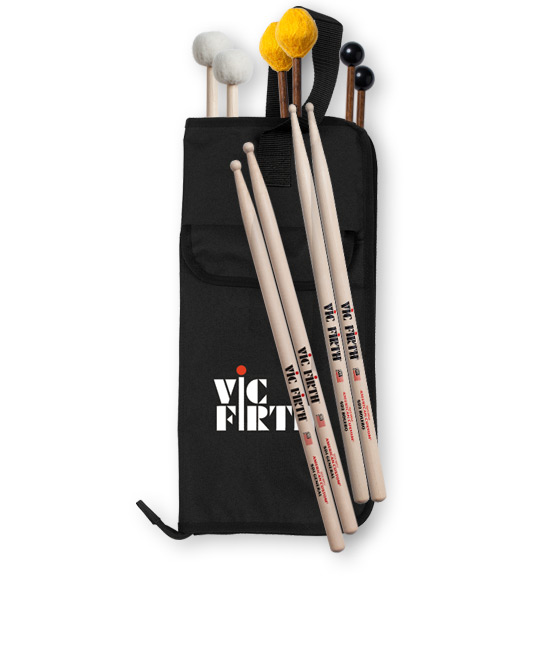 This education pack has SD1, SD2, Bell Mallets, Yarn Mallets, and Timpani Mallets!