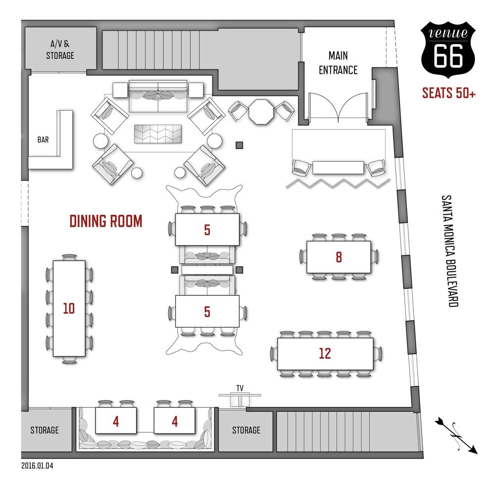 event scenarios venue 66 5 pop up restaurant