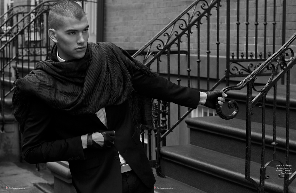 Stylist: Frances Eugenia.  Photography: Kurtiss NY. Model: Luke Thompson.  Fashion Assistant: Eura Selvaggia.  Grooming: Angel Ya Ting Yu