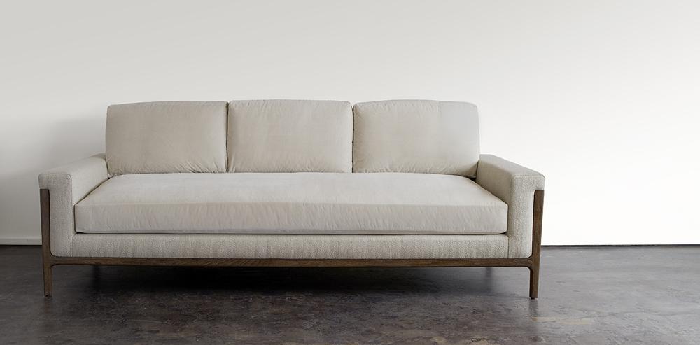 Trista Sofa, Oak