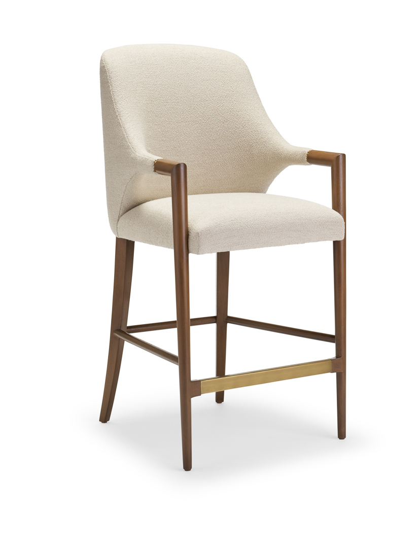 Harris Arm Barstool, Oak