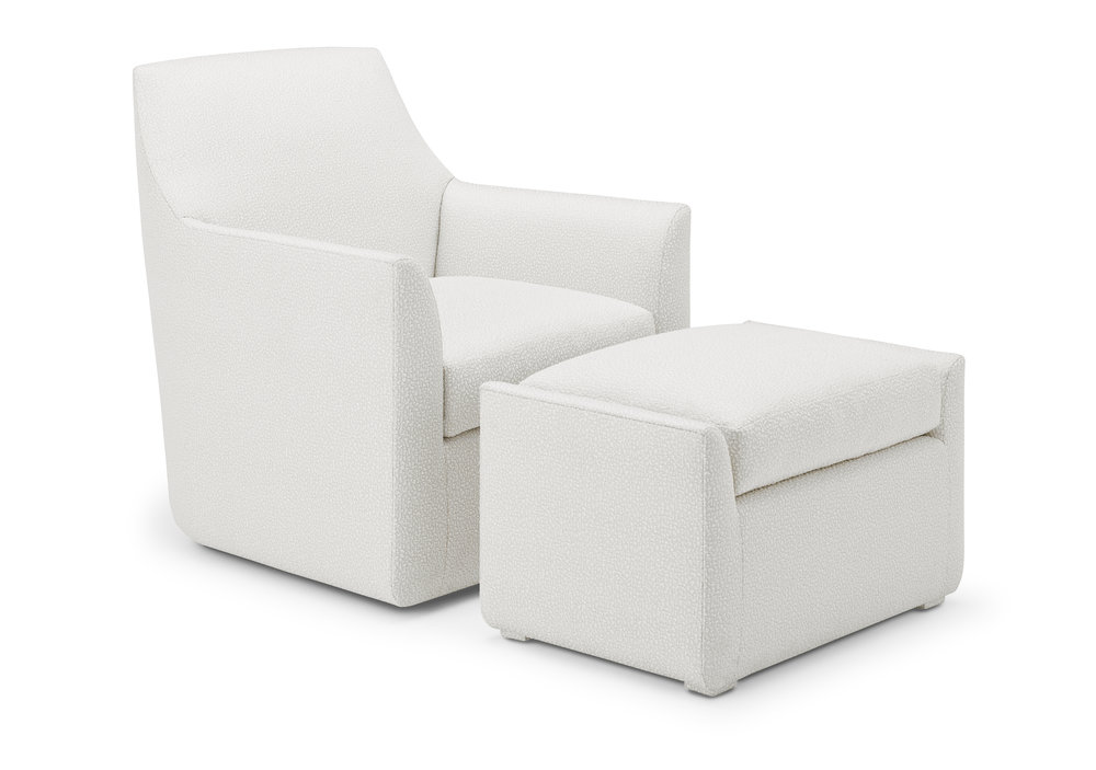 Camille Lounge & Ottoman