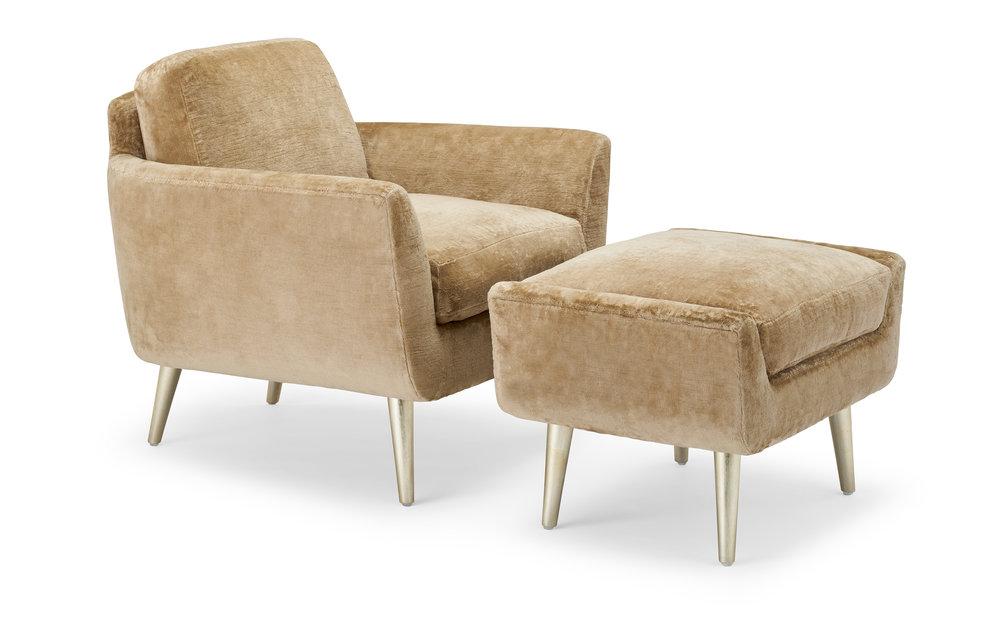Contessa Lounge & Ottoman