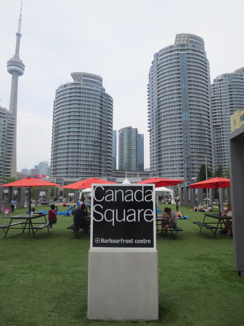 Toronto's Harbourfront Centre.