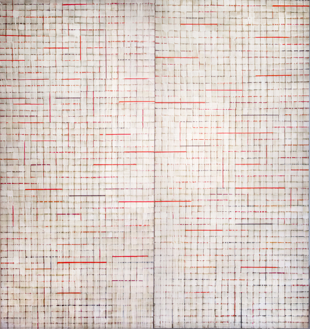 GRID WHITE RED BLACK 2014