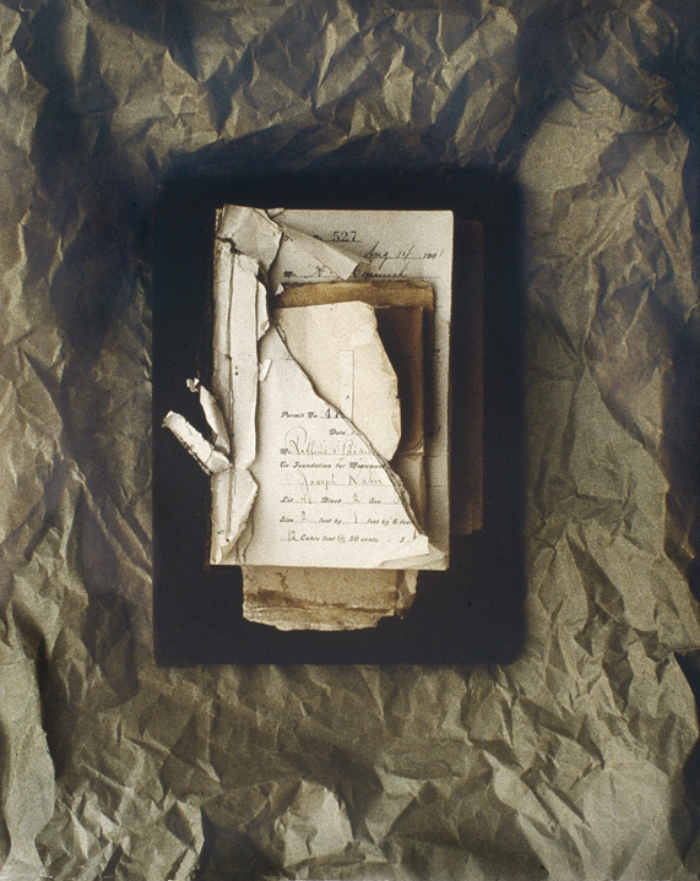 "CHANGING BOOK NO.12  1991  C-PRINT  20"" x 24"""