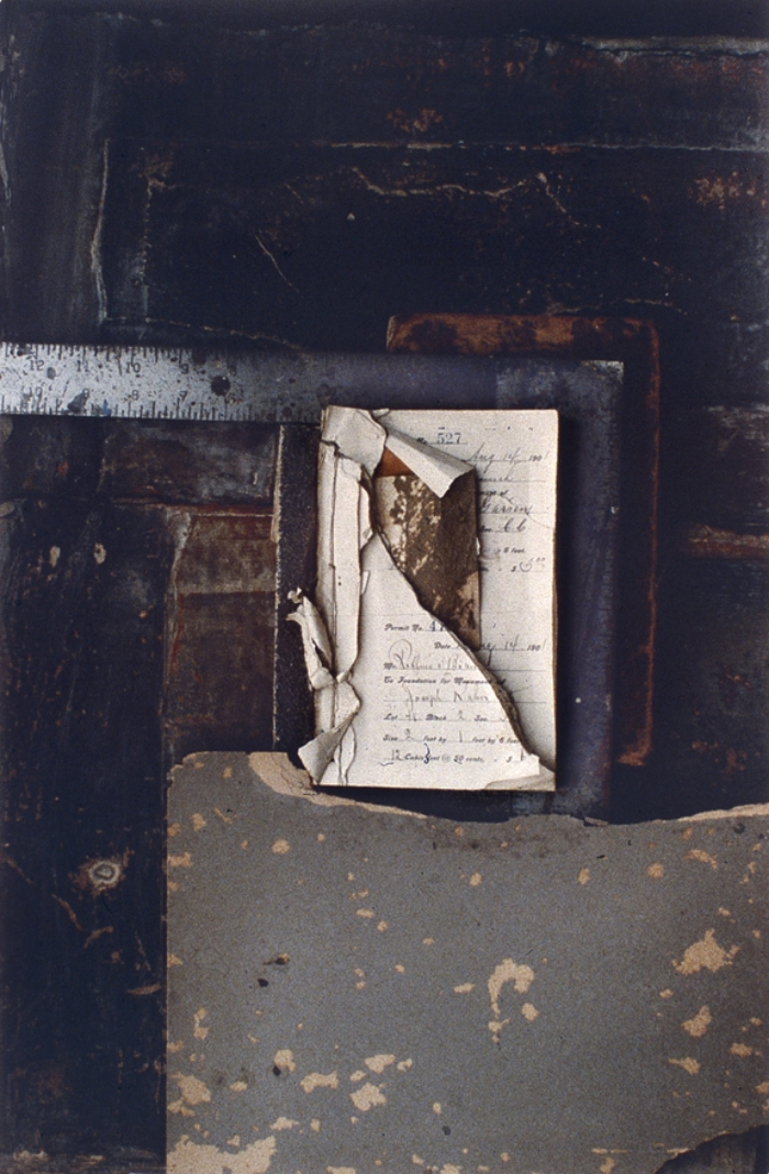 "CHANGING BOOK NO.2  1991  C-PRINT  20"" x 24"""