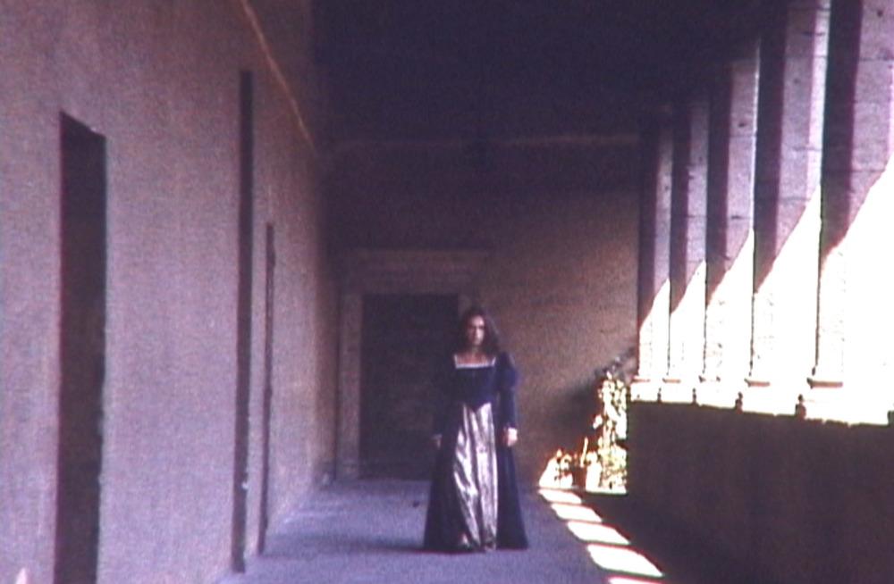 Beatrice alone.