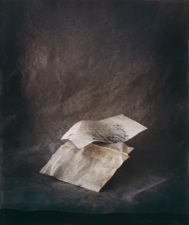 """FOLDED PAPER 1993 C-PRINT  20"""" x 24"""""""