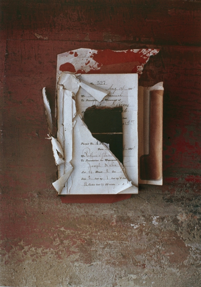 "CHANGING BOOK NO.5  1991  C-PRINT  20"" x 24"""