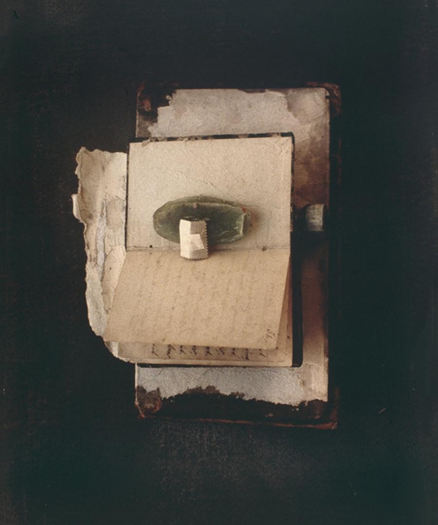 """BOOKBINDER No. 4  1992  C-PRINT  20"""" x 24"""""""