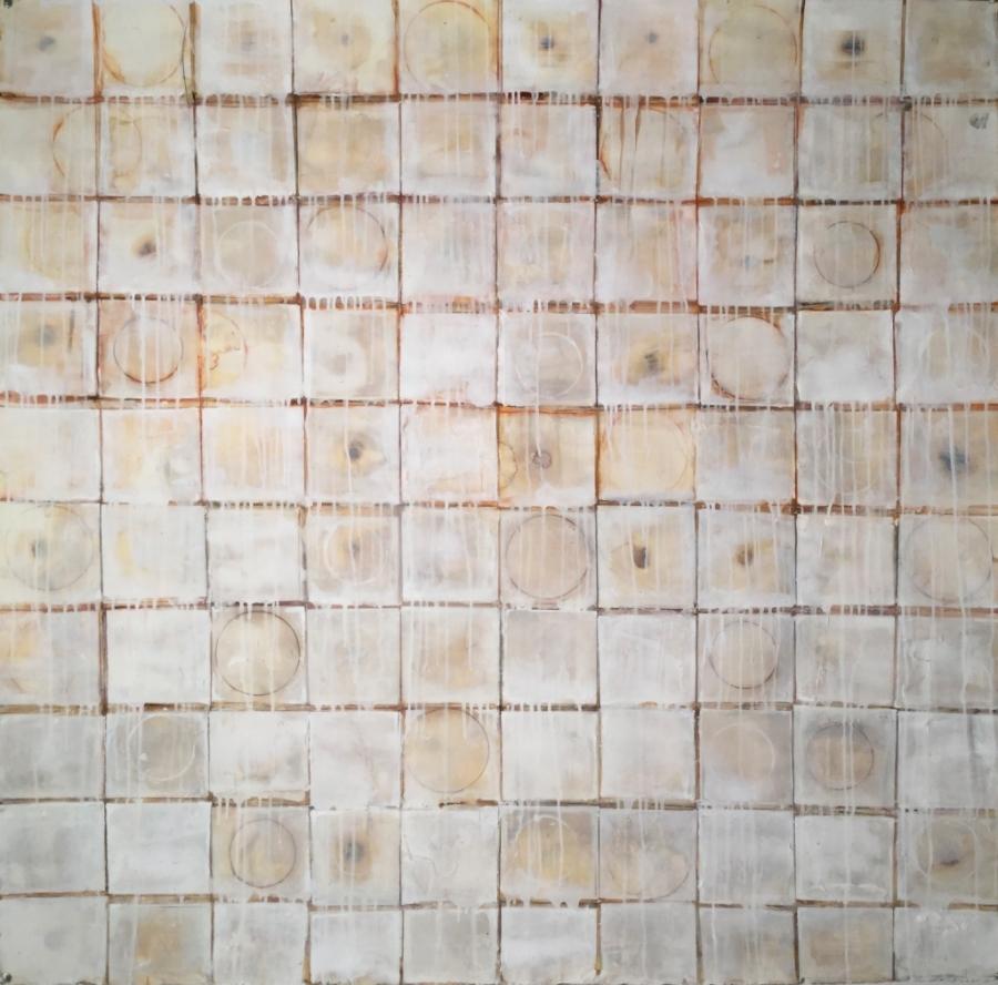 CIRCLE BATH  2016  5' x 5'