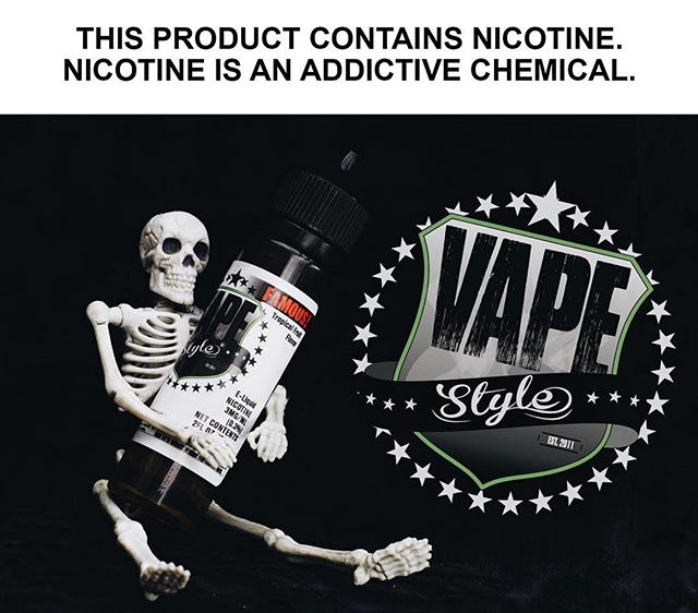 ☠️💀 HAPPY HALLOWEEN 💀☠️ At the top of your game you need a juice that's on the same level. Famous! will keep you fresh with its energizing blend of strawberry, pineapple, and watermelon backed by a subtle kick of citrus. 60mL and 100mL bottles available online at store.vapewithstyle.com and at The Vapour Lounge! For wholesale inquiries call (909) 484-2191 • • • Contact us! Phone: (909) 945-1898 1# At Message 8188 Rochester Ave, Suite D Rancho Cucamonga, CA 91730 • • • #thevapourlounge #vapestyle #vapewithstyle #vapelife #vapedaily #vapeon #vapeporn #vapehead #vapehard #famous #halloween #happyhalloween
