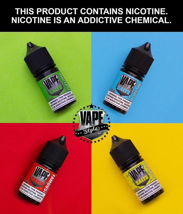 📸 from @thevapourlounge • • • Our best selling flavors now available in SALT NIC!!! Famous!, Famous! Ice, Granny's Apple and Granny's Apple Ice AVAILABLE NOW!!! Come by the shop and pick some up!!! • • • Phone: (909) 945-1898 1# At Message 8188 Rochester Ave, Suite D Rancho Cucamonga, CA 91730 • • • #thevapourlounge #SaltNic #vapestyle #VapeStyleSaltNic #vapestyle #vapewithstyle #vapelife #vapedaily #vapeon #vapeporn #socalvape #socal #flatlay #flatlays