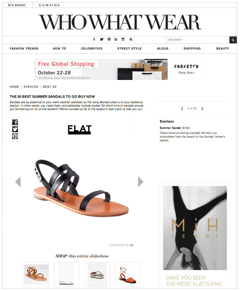 WhoWhatWear - 20 Best Sandals