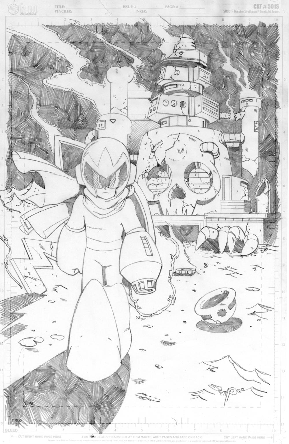Protoman Commission