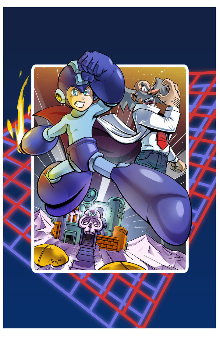 Mega Man Issue #20 Variant Cover