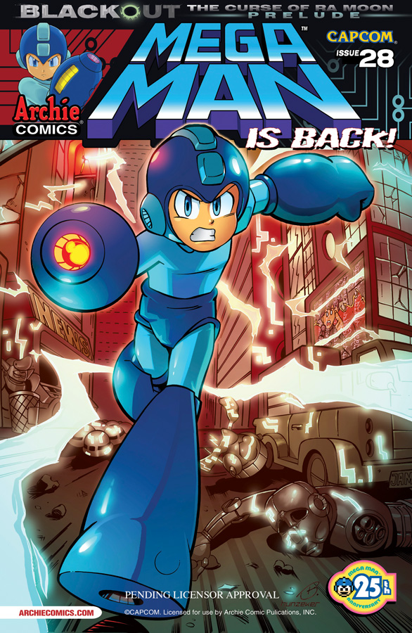 Mega Man Issue #28