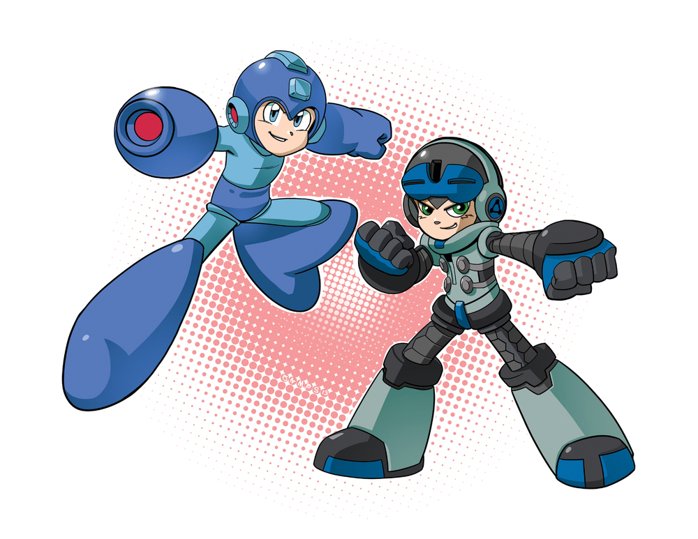 Stepbrothers // Megaman & Mighty No. 9